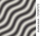wavy stripes vector seamless...   Shutterstock .eps vector #729287272