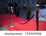 red carpet    is traditionally... | Shutterstock . vector #729345556