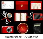collection of luxury icons | Shutterstock .eps vector #72935692