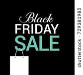 black friday sale. clip art for ... | Shutterstock .eps vector #729381985