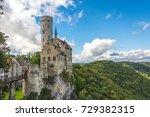lichtenstein castle  baden... | Shutterstock . vector #729382315