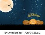 vector wide poster for... | Shutterstock .eps vector #729393682