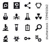 16 vector icon set   search... | Shutterstock .eps vector #729401062