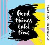 inspirational and motivational...   Shutterstock .eps vector #729413968
