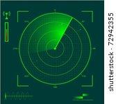 radar localization eps10   Shutterstock .eps vector #72942355