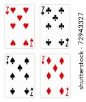 Playing Cards   Seven