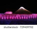 26th march 2014  fuji mountain... | Shutterstock . vector #729439702