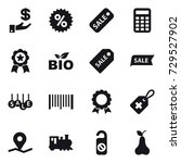 16 vector icon set   investment ... | Shutterstock .eps vector #729527902