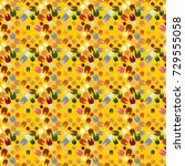 new amazing seamless pattern... | Shutterstock . vector #729555058