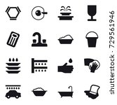 16 Vector Icon Set   Hex...