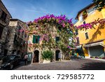 sirmione old town | Shutterstock . vector #729585772