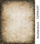an old  vintage paper... | Shutterstock . vector #72959197