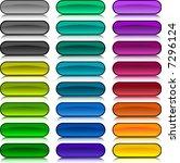 a lot of buttons. vector... | Shutterstock .eps vector #7296124