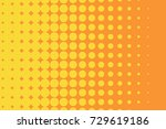 abstract futuristic halftone... | Shutterstock .eps vector #729619186