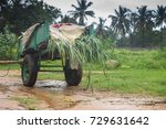 farmers transporting vehicle