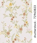 floral background   seamless... | Shutterstock . vector #72963823
