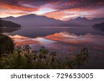 asia culture   beautiful... | Shutterstock . vector #729653005