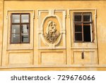 vintage buildings in europe | Shutterstock . vector #729676066