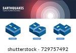 types of plate boundary... | Shutterstock .eps vector #729757492