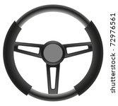steering wheel   Shutterstock .eps vector #72976561