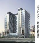 3d business building   Shutterstock . vector #72979231