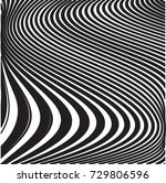 abstract vector wave stripes .... | Shutterstock .eps vector #729806596