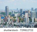 observation room in japan  | Shutterstock . vector #729812722