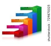five elements of infographics...   Shutterstock .eps vector #729870325
