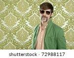 geek retro salesperson man... | Shutterstock . vector #72988117