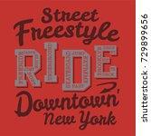 skate board freestyle... | Shutterstock .eps vector #729899656