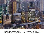 office building city downtown... | Shutterstock . vector #729925462
