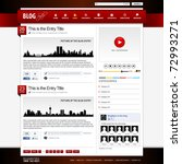 web design website element...   Shutterstock .eps vector #72993271