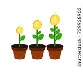 money growth concept symbol....