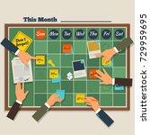 business software development... | Shutterstock .eps vector #729959695