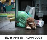 Teddy Bear Thrown In The Trash...