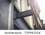 store or company outdoor logo... | Shutterstock . vector #729961516