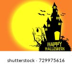 halloween  | Shutterstock .eps vector #729975616