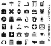 sport life icons set. simple... | Shutterstock . vector #729989272