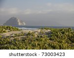 View From Dunes To Morro Rock....