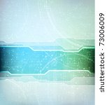 abstract design vector banner.... | Shutterstock .eps vector #73006009