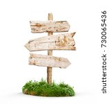 3d illustration of an old... | Shutterstock . vector #730065436