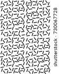 pattern black white wallpaper... | Shutterstock .eps vector #730067728