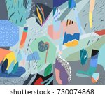 creative universal  header.... | Shutterstock .eps vector #730074868