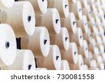 large group of bobbin thread... | Shutterstock . vector #730081558