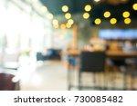 blurred coffee shop blur... | Shutterstock . vector #730085482