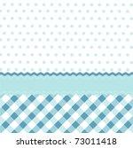 seamless baby blue pattern ... | Shutterstock .eps vector #73011418