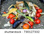 Pile Of Decomposed Vegetables...