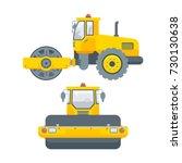 stock vector isolated asphalt... | Shutterstock .eps vector #730130638