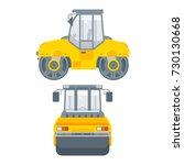 stock vector isolated asphalt...   Shutterstock .eps vector #730130668