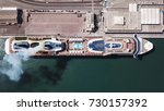 aerial view of mega huge... | Shutterstock . vector #730157392